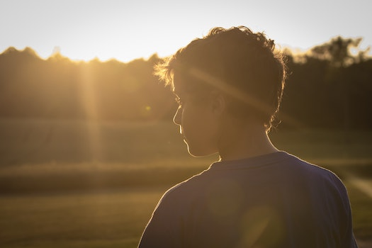 Free stock photo of sunset, man, waiting, young