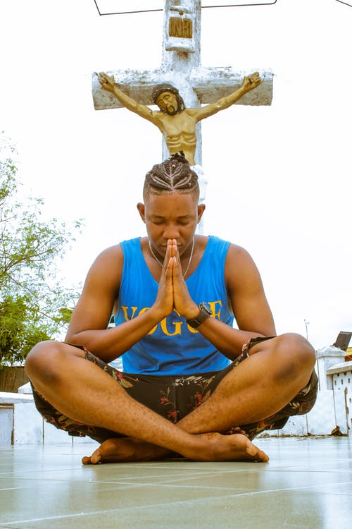 Free stock photo of african, amen, blue
