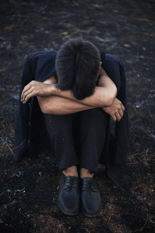 うつ病, エレガント, おとこの無料の写真素材