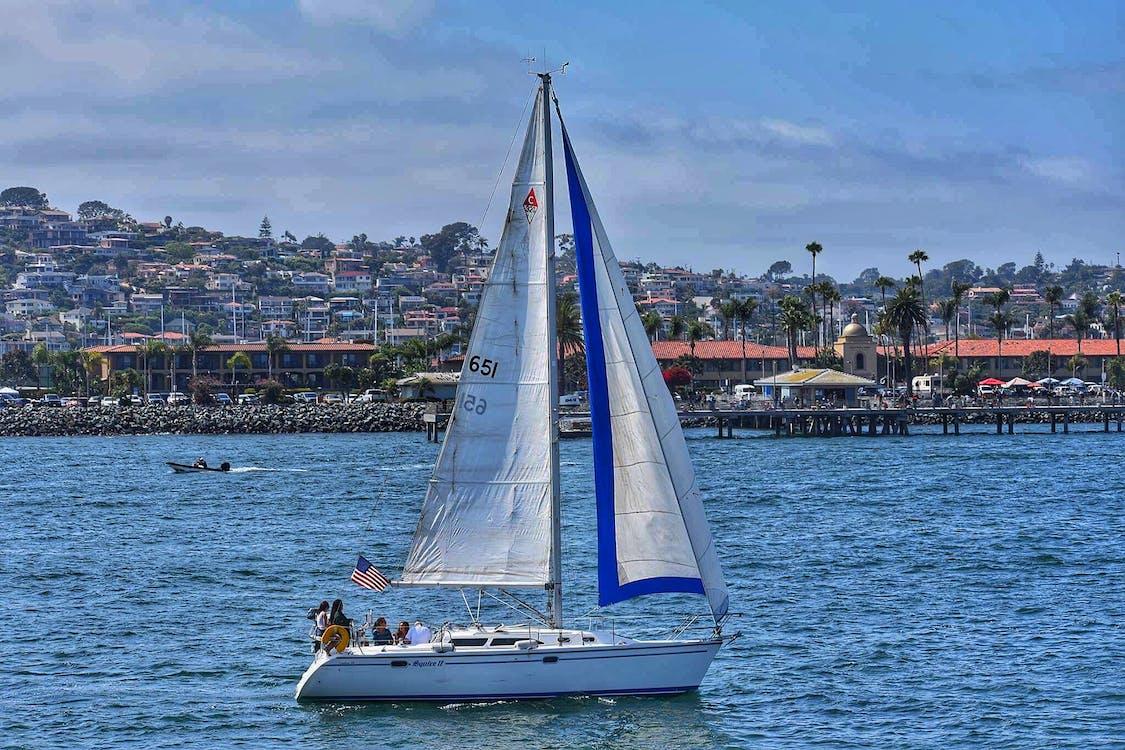 segelbåt, segling, vatten
