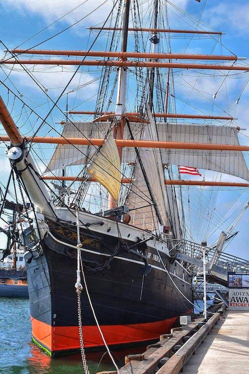 Kostenloses Stock Foto zu piratenschiff, schiff