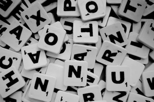 Photos gratuites de alphabet, carreau, carreaux de scrabble