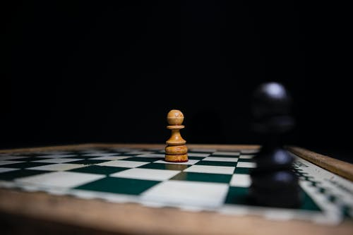 Pawns on a Chess Board