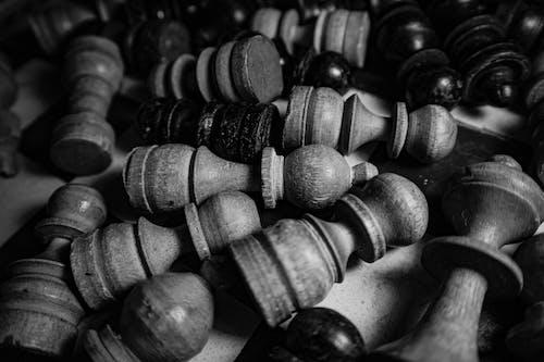 Foto stok gratis bidak, catur, gelap
