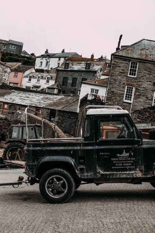 Ingyenes stockfotó autó, autózás, elavult, épület témában