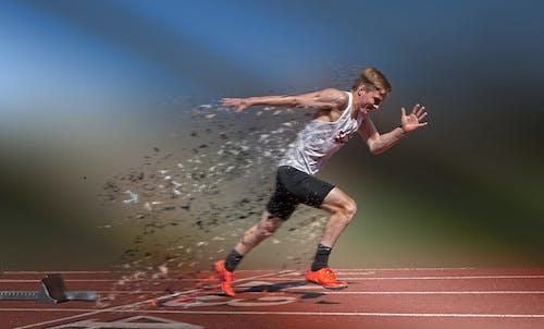 Free stock photo of magic shattered track run speed
