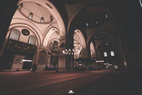 Gratis stockfoto met architectuur, fel, groothoekfotografie, moskee