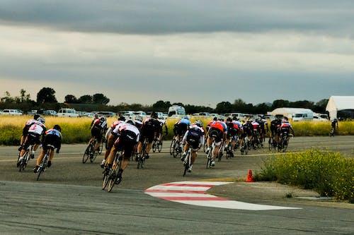 Imagine de stoc gratuită din atlet, atleți, ciclism, colorat