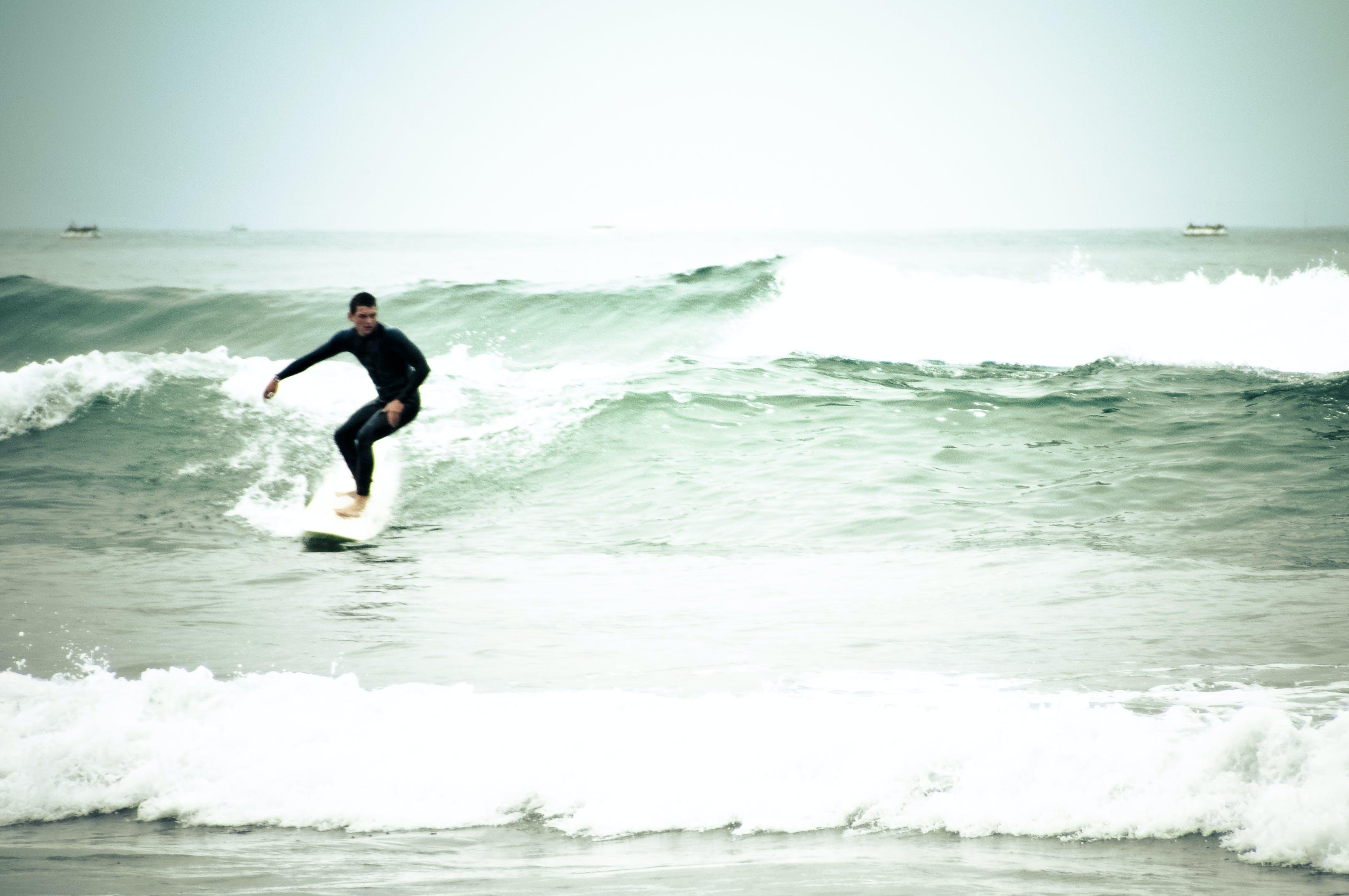 Free stock photo of beach, clouds, fun, ocean