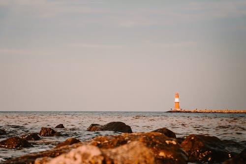 Δωρεάν στοκ φωτογραφιών με horizont, leuchtfeuer, leuchtturm