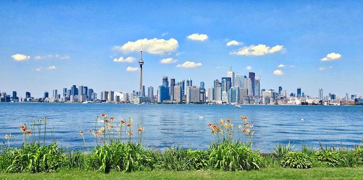 Free stock photo of sea, city, landscape, nature