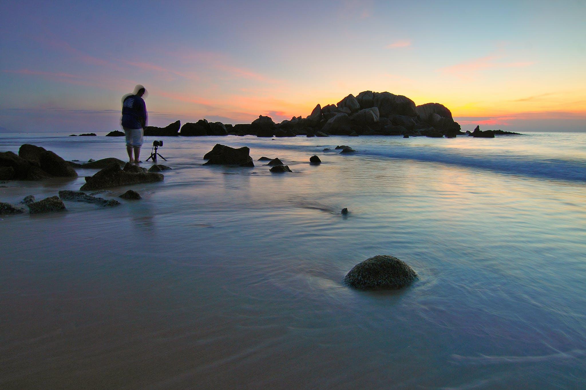 Gratis lagerfoto af bølger, fotograf, hav, havudsigt