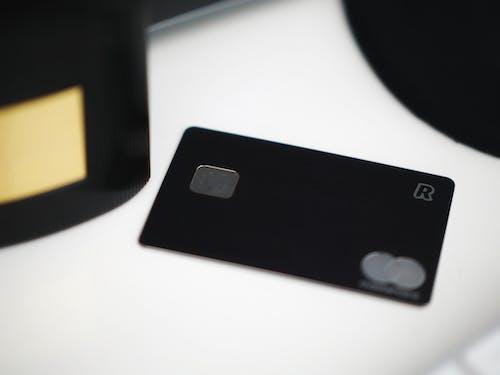 Free stock photo of black, black card, credit card