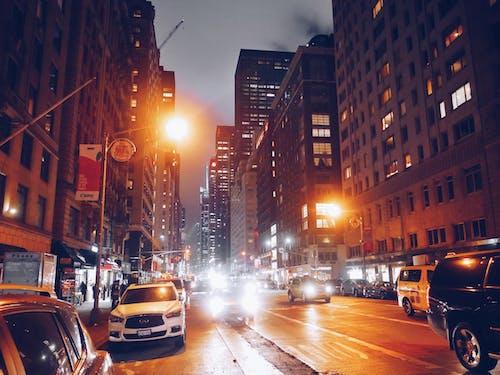Free stock photo of city, new york