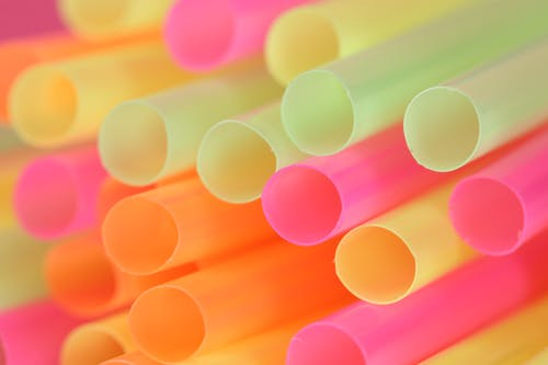 Ilmainen kuvapankkikuva tunnisteilla abstrakti, juominen olki, neonvärit