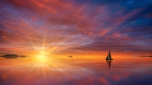 Photos gratuites de aube, brillant, coucher de soleil, coucher du soleil