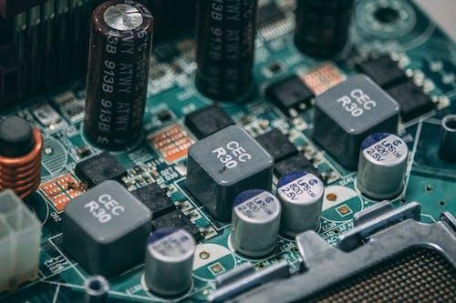 Fotos de stock gratuitas de chip, circuito, componente, condensador
