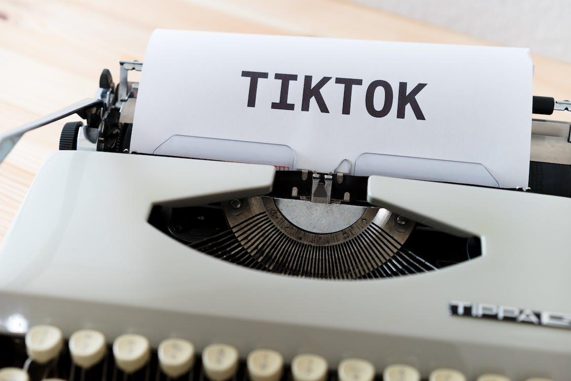 Paper in White Typewriter