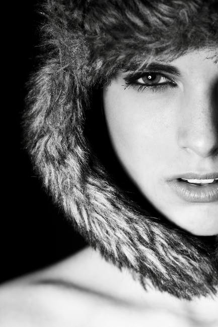 New free stock photo of cold, black-and-white, fashion