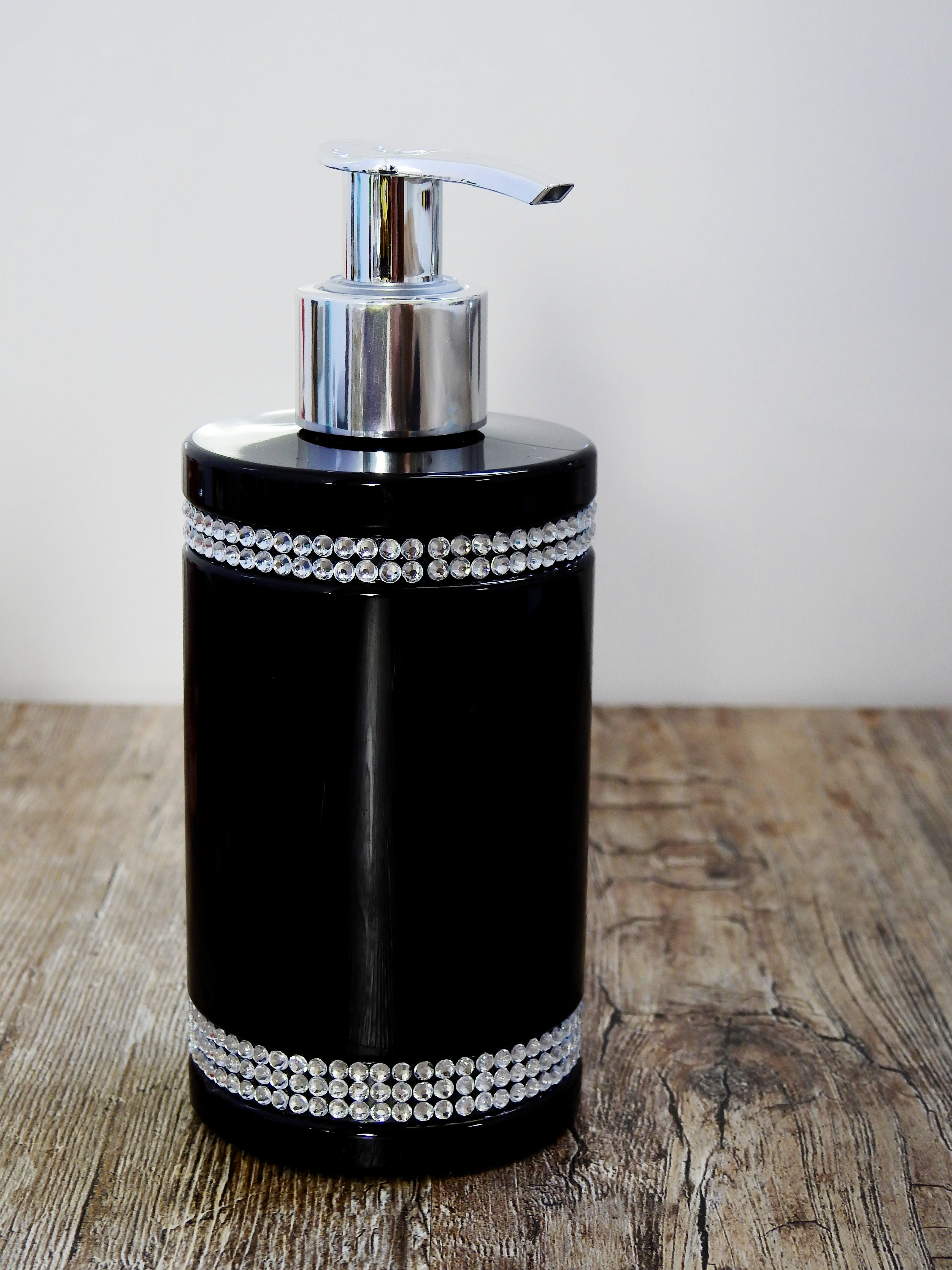 Black and Gray Pump Bottle