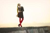 fashion, person, red