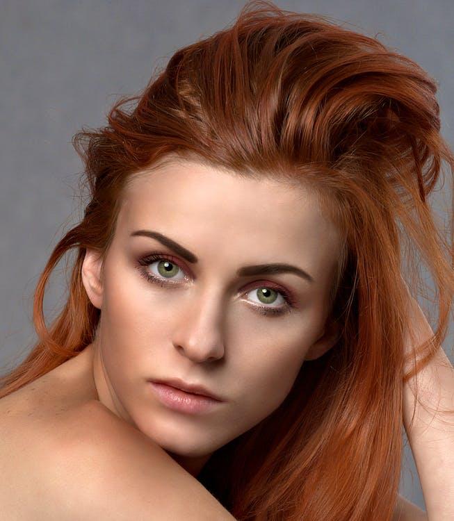 Woman in Blond Hair