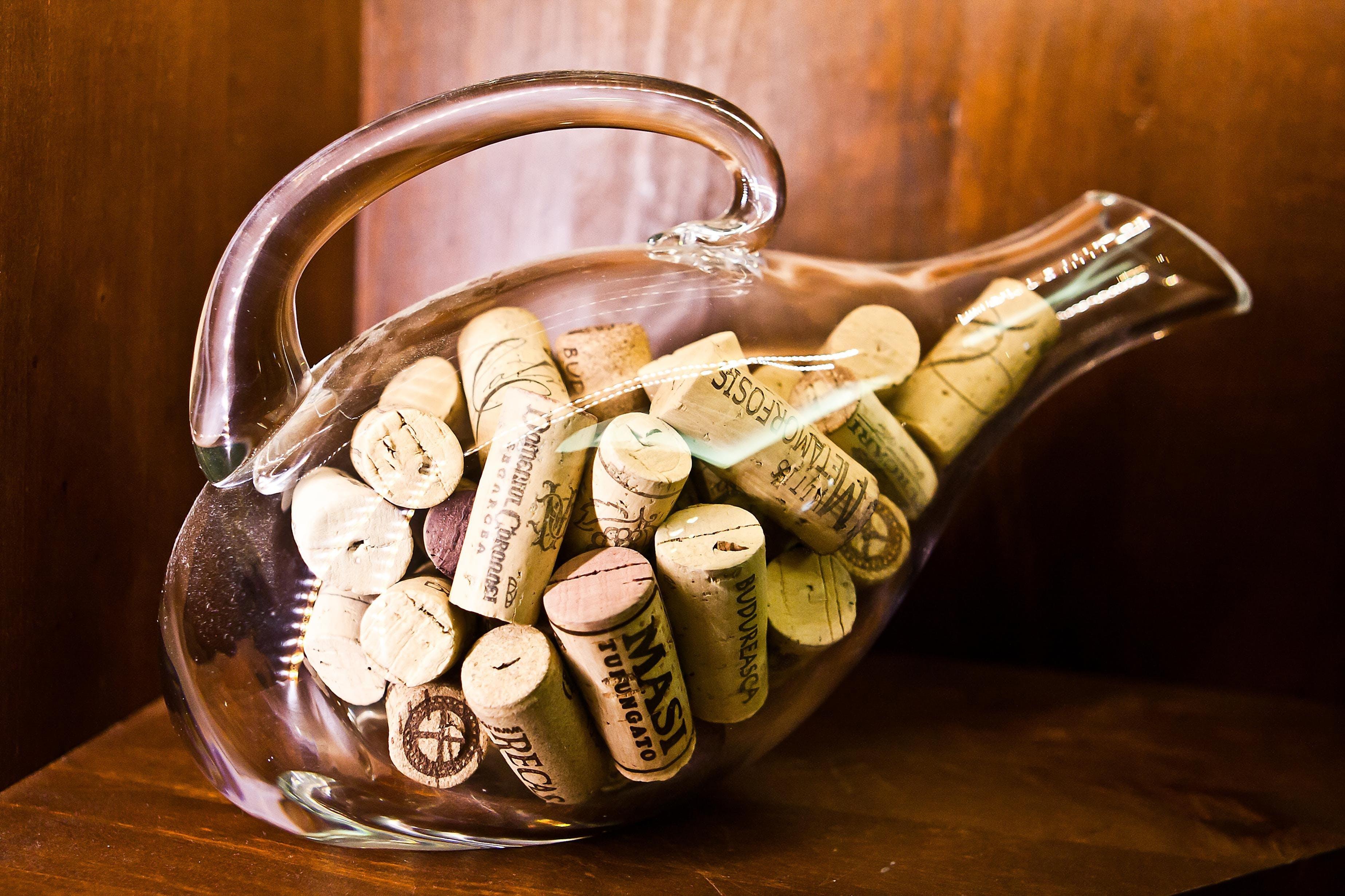 Free stock photo of cork, bottle, beverage, carafe