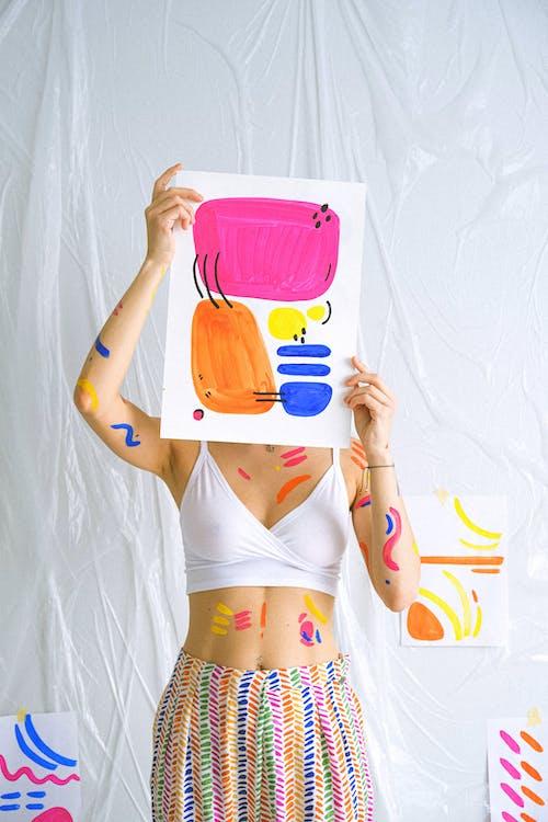 Бесплатное стоковое фото с Абстрактная живопись, абстрактный, Анонимный