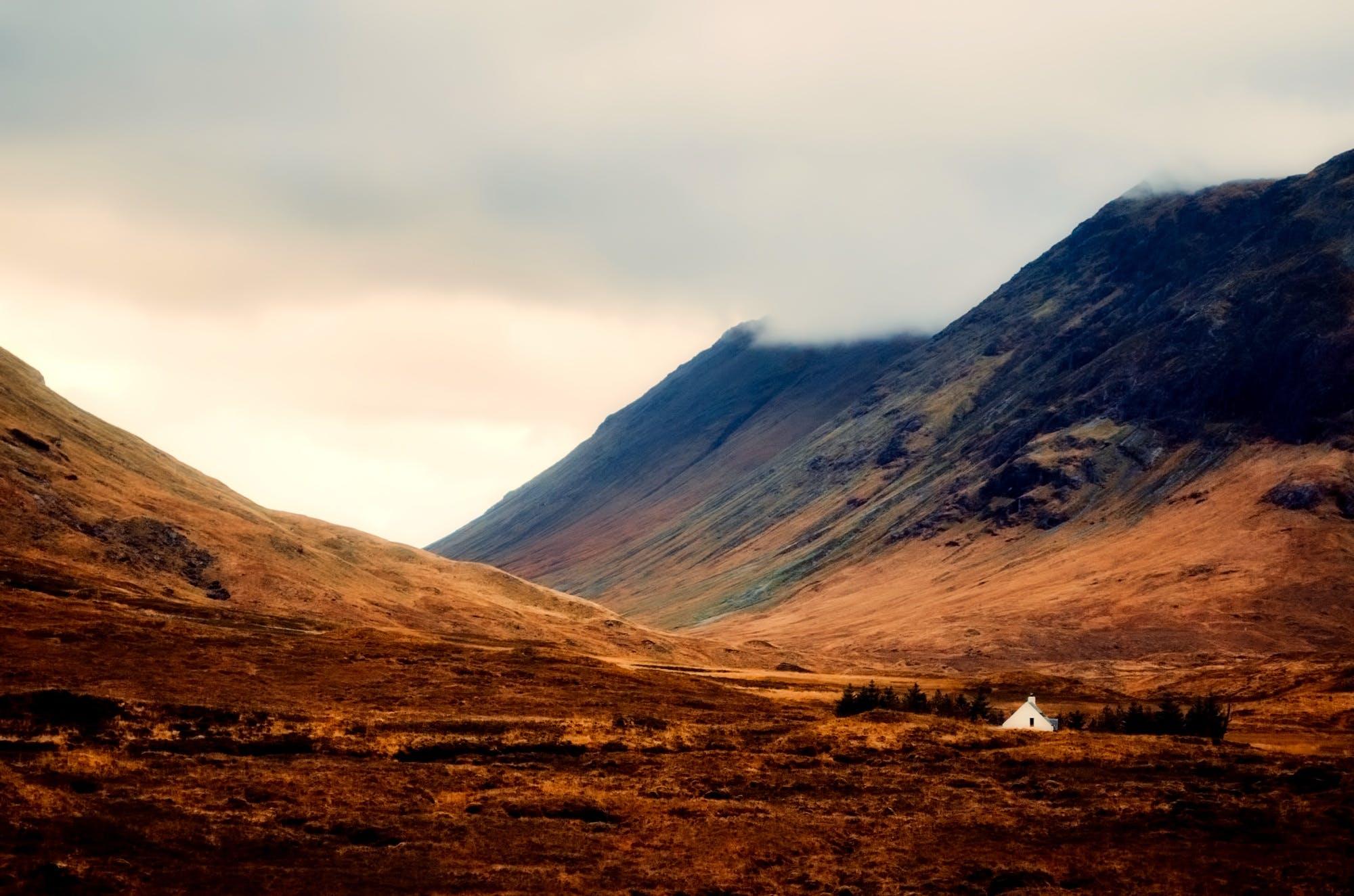 Fotobanka sbezplatnými fotkami na tému denné svetlo, hory, krajina, malebný