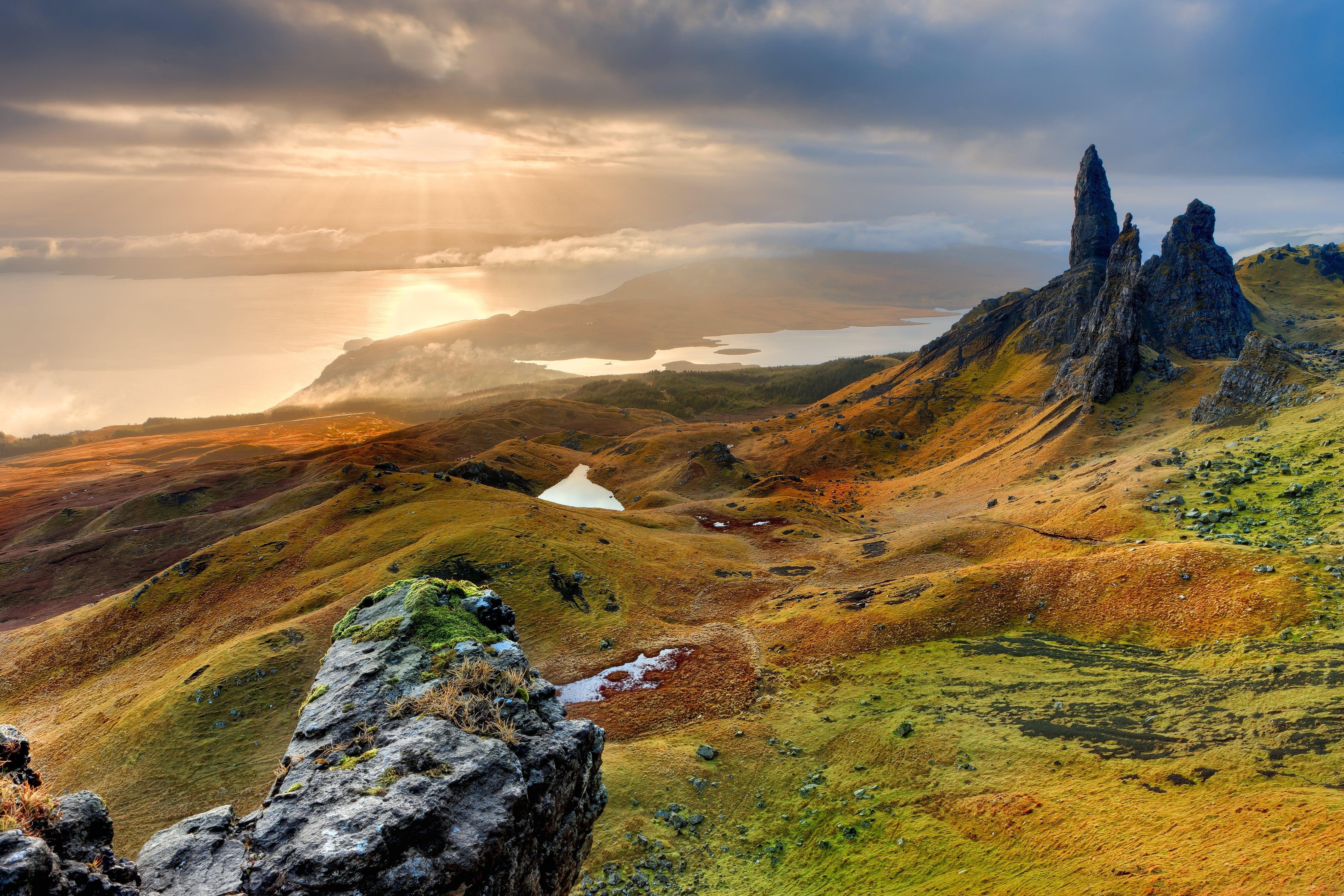 Foto d'estoc gratuïta de muntanyes, natura, paisatge, roques