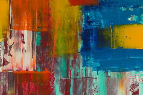 Бесплатное стоковое фото с Абстрактная живопись, абстрактный, акварель, акварельная живопись