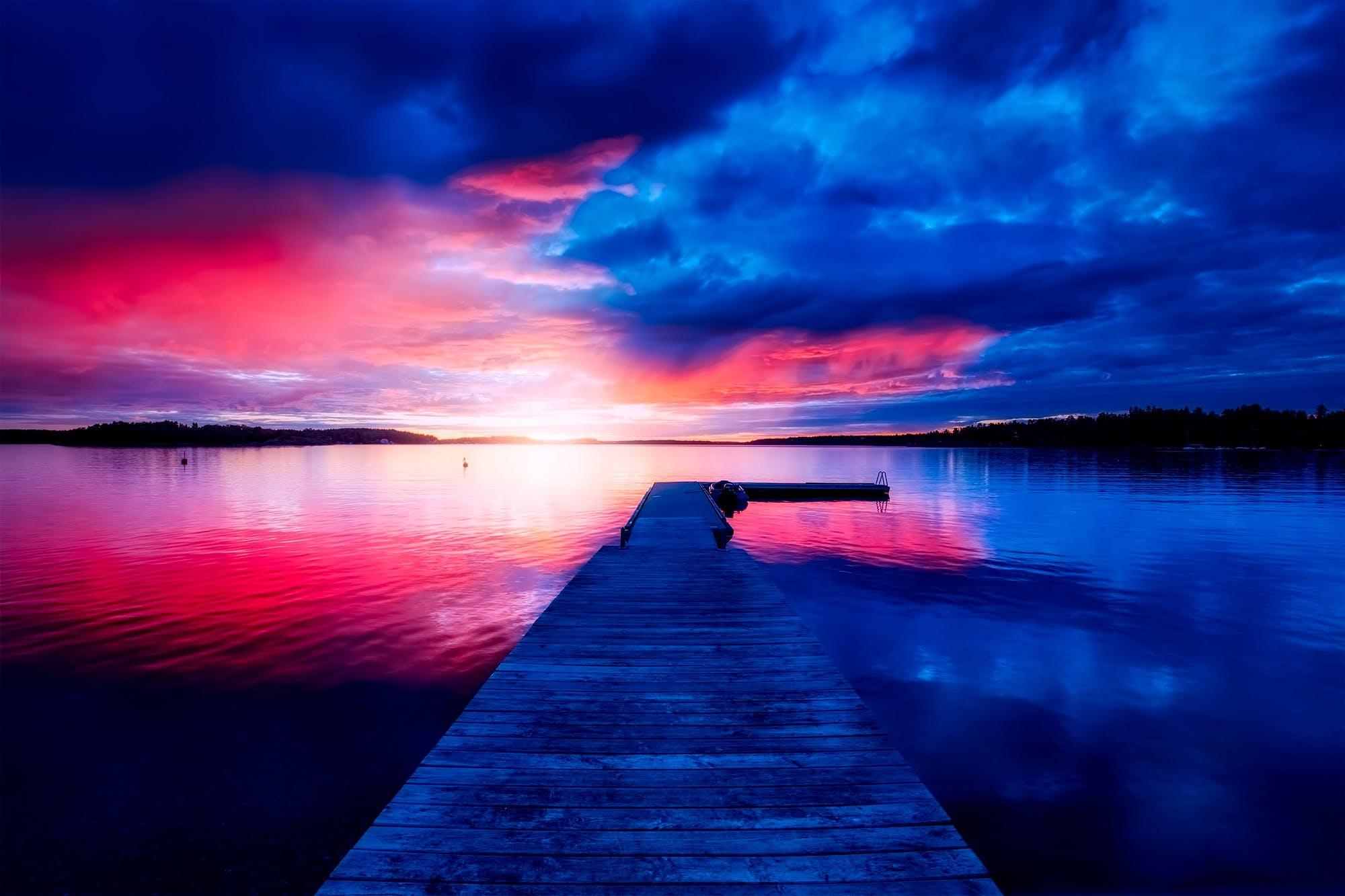 Free stock photo of beautiful, bridge, clouds, country