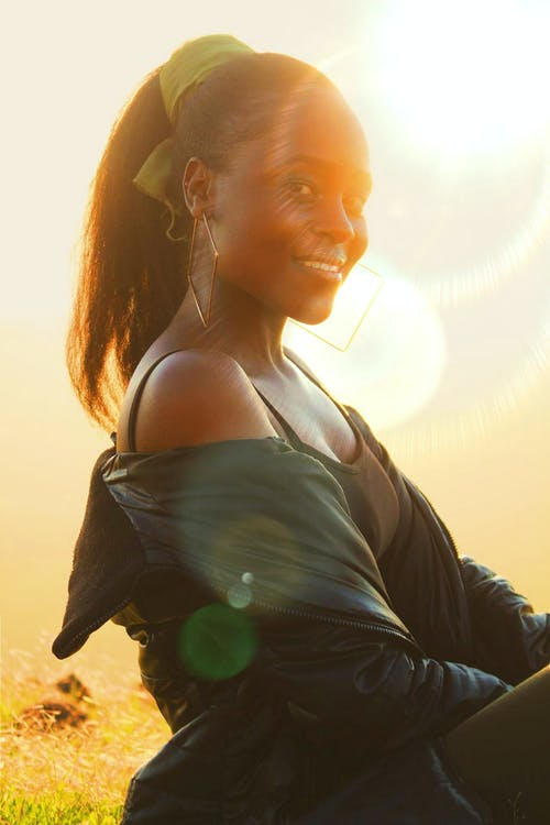 Free stock photo of african, african woman, beautiful smile