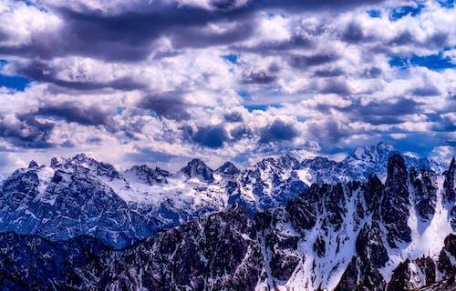 Foto stok gratis alam, alpine, awan, batu