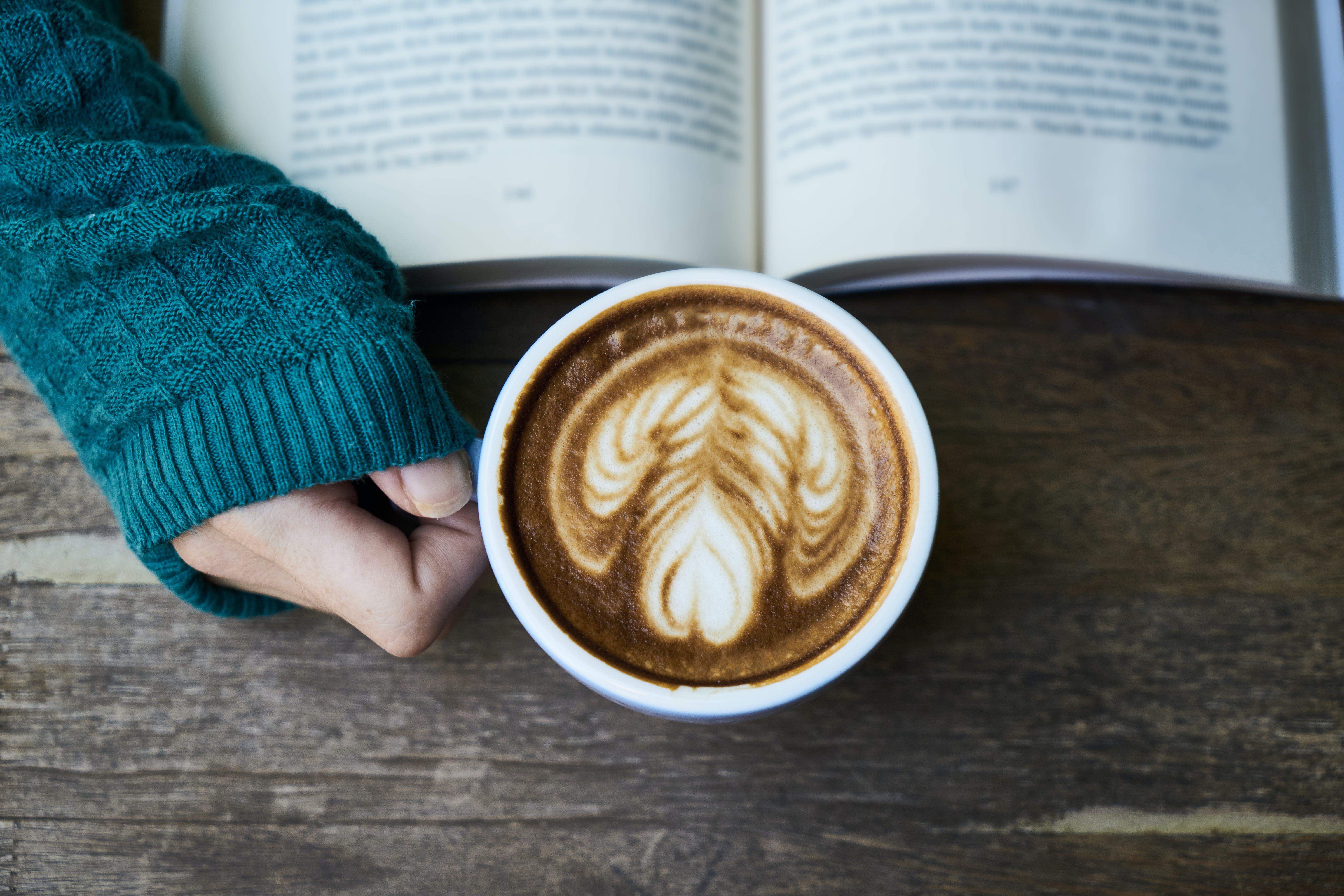 book, breakfast, brown