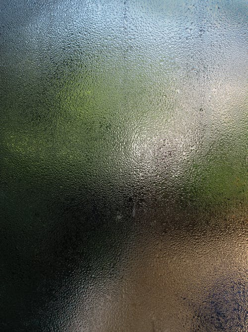 Moist Glass Window