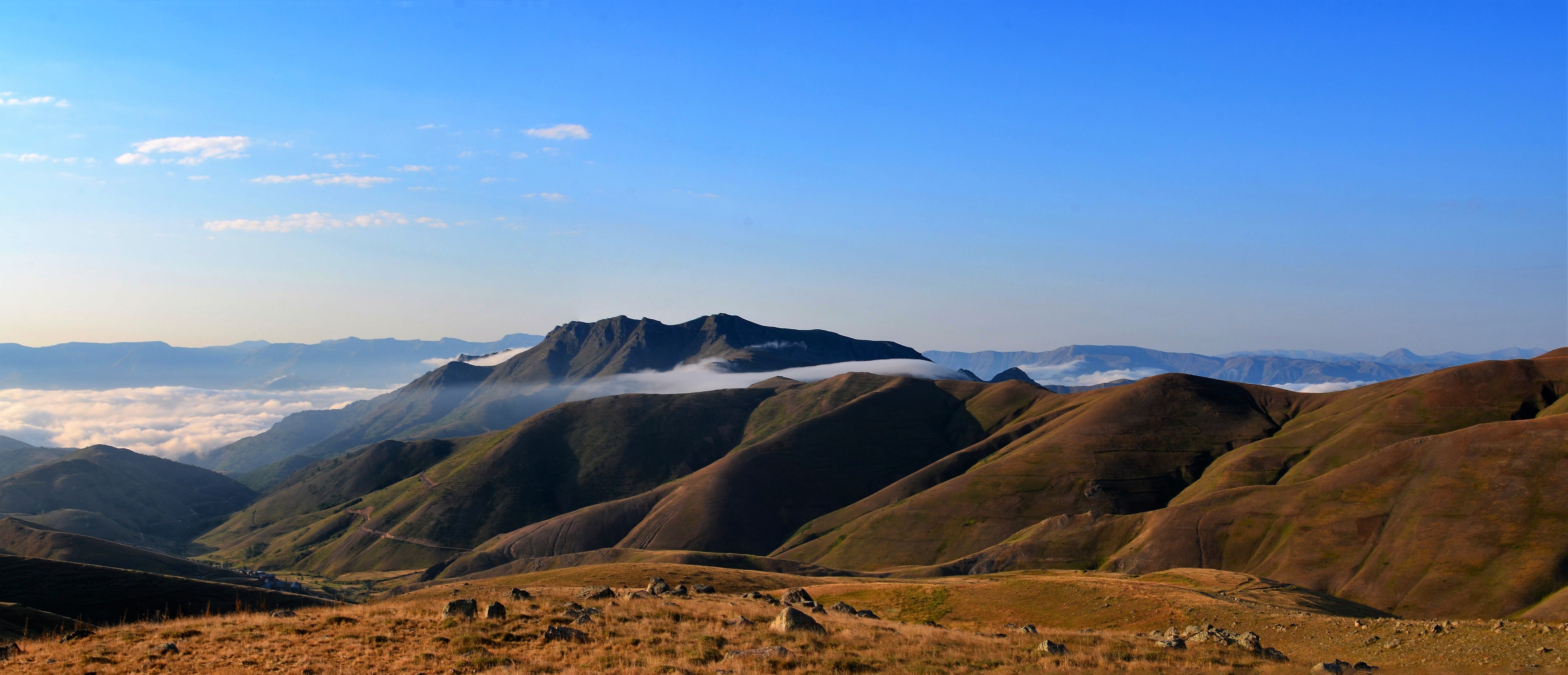 Landscape Photography of Brown Mountain