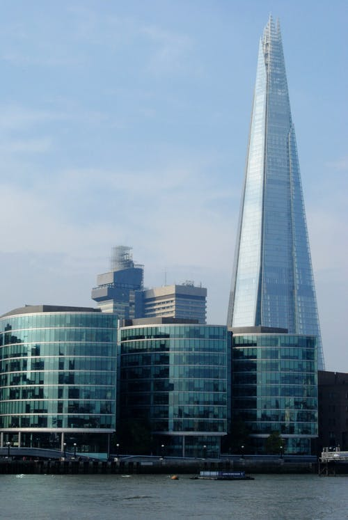 Free stock photo of buildings, city-challenge, glass, london