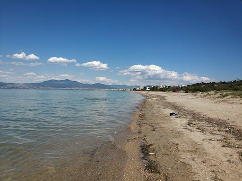 Free stock photo of beach, clounds, greece