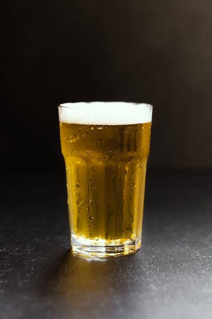 alcohol, alcoholic, amber