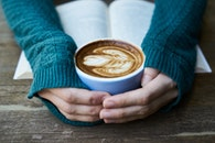 wood, hands, caffeine
