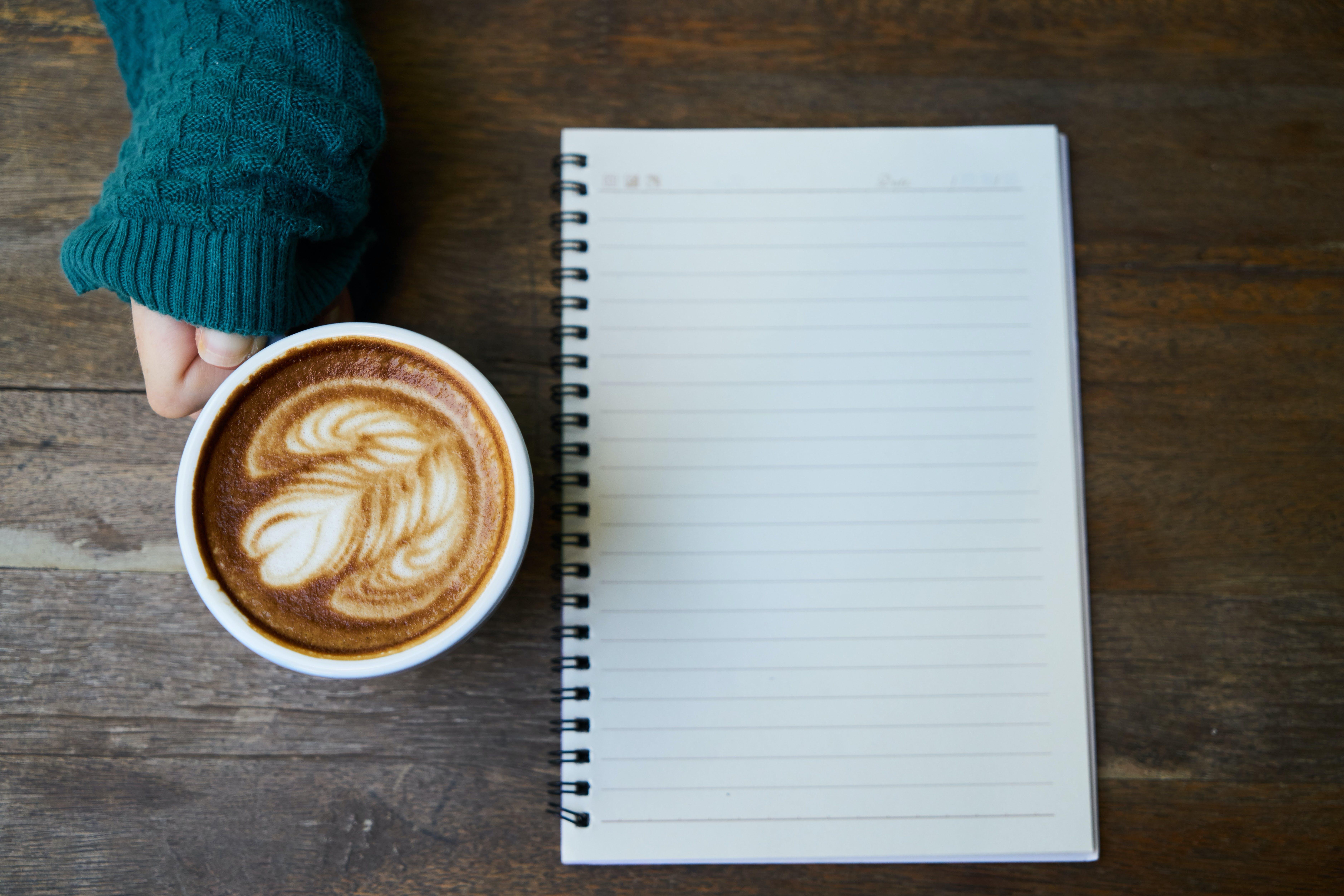 俯視圖, 卡布奇諾, 原本, 咖啡 的 免费素材照片