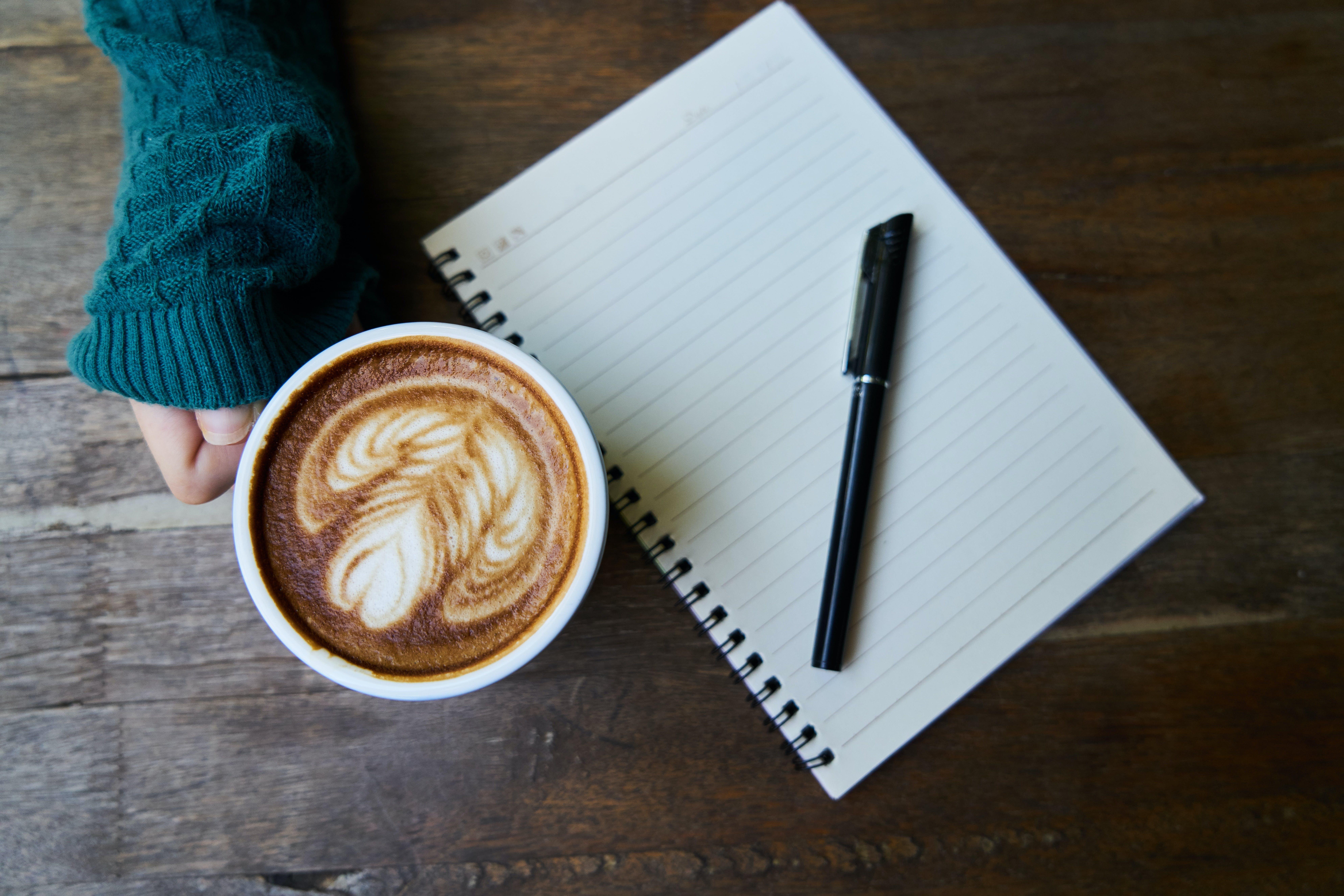 brown, café, caffeine