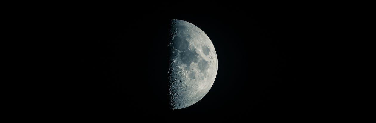 astronomi, krater, luna