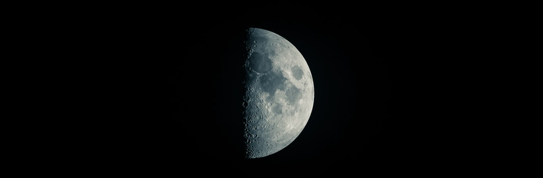 Free stock photo of space, dark, moon, science