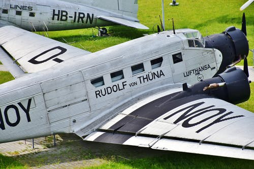 Fotos de stock gratuitas de aeronave, alas, antiguo, aviación