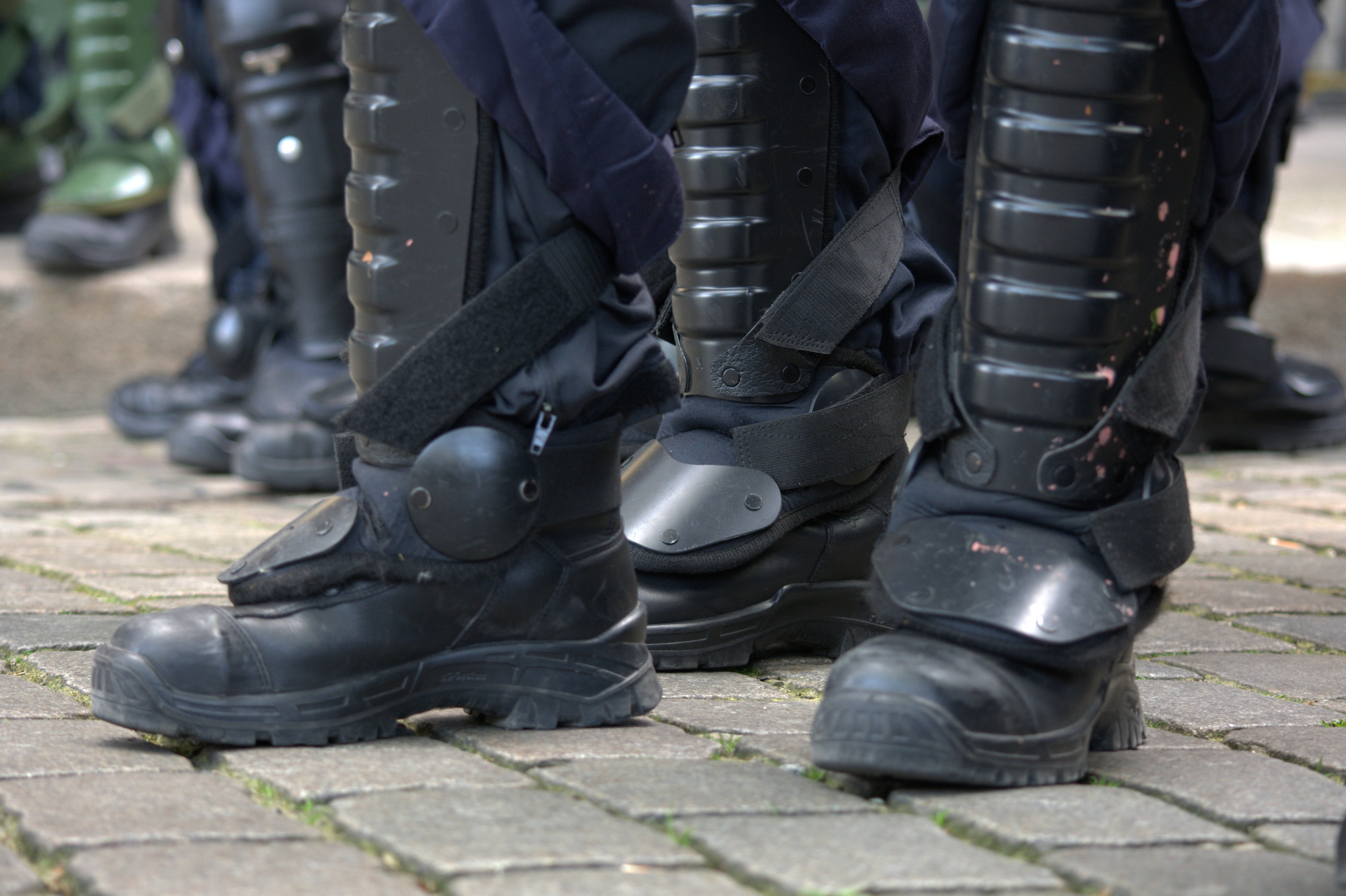 Free stock photo of technology, police, dispute, boots