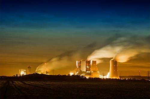 Gratis lagerfoto af aften, aftenhimmel, damp, elektricitet