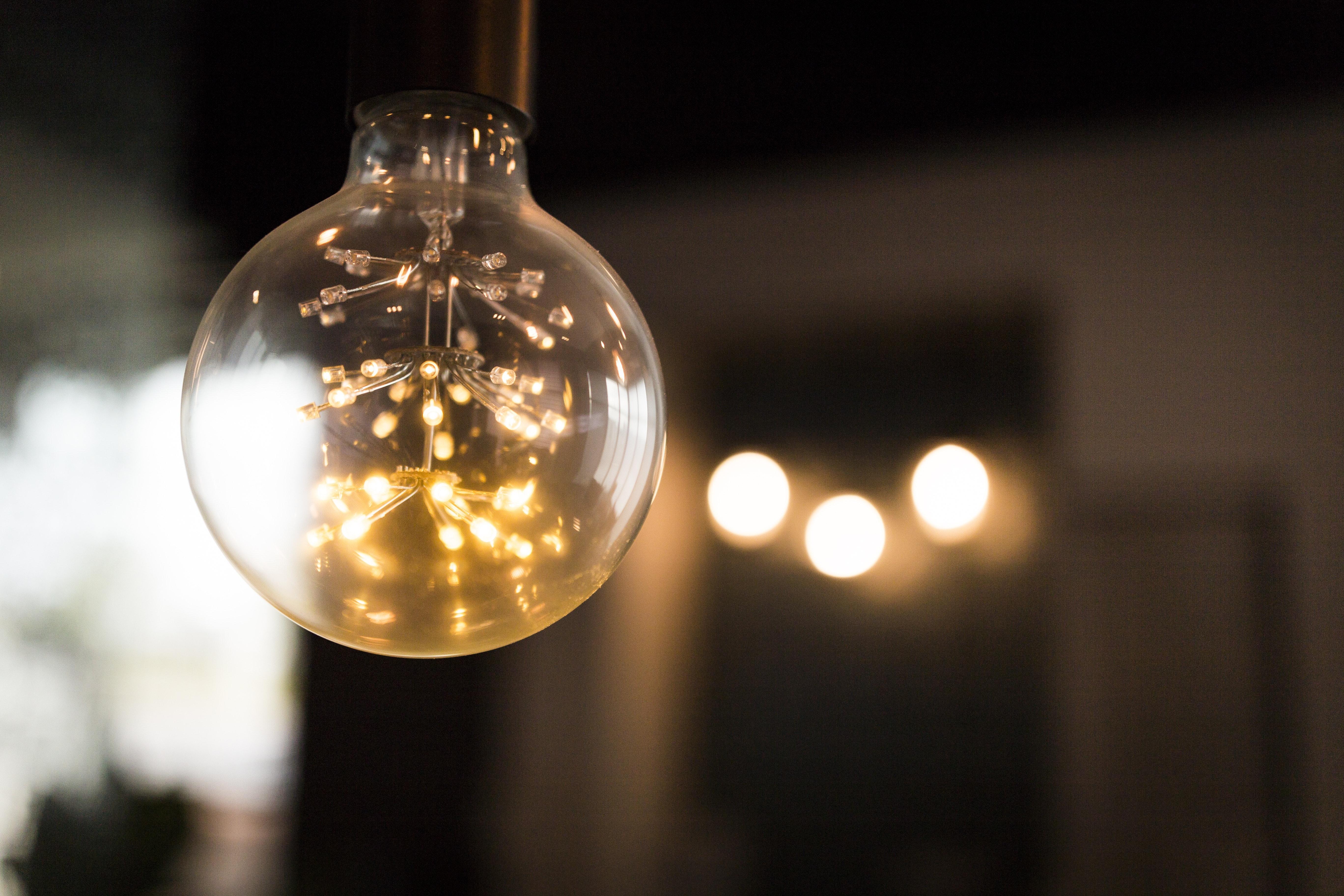 Free Stock Photo Of Dark Light Light Bulb