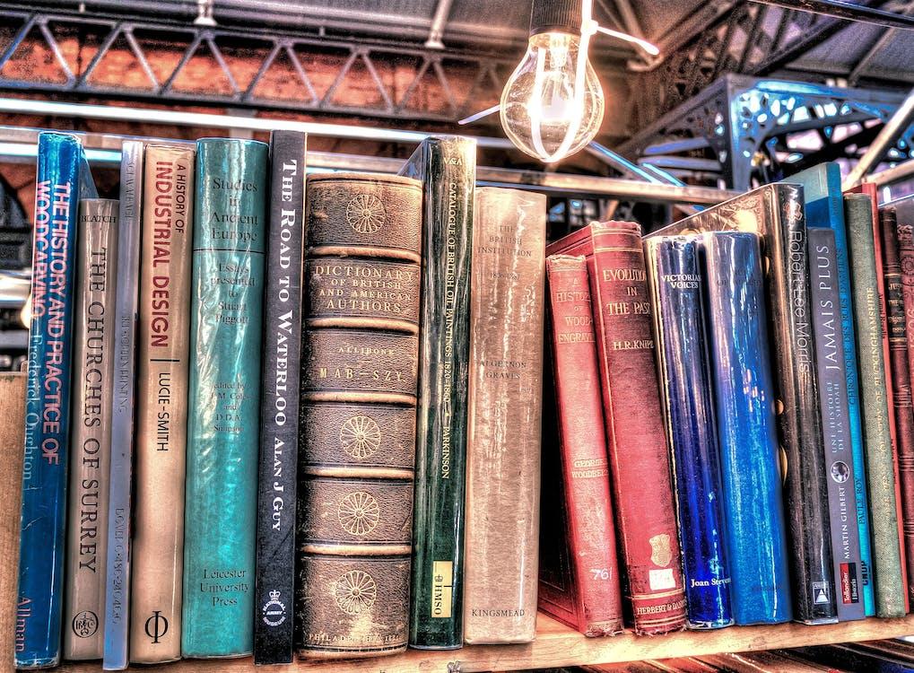 klasický, knihovna, knihy